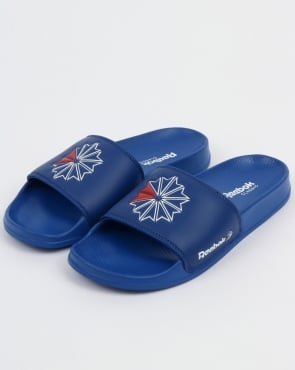 Reebok Classic Slides Royal Blue