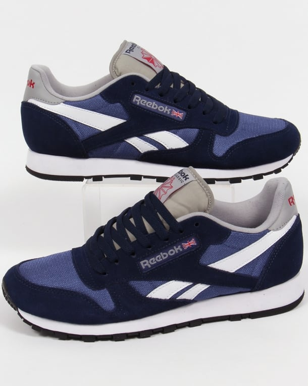 Reebok Classic Sport Clean Trainers Navy/midnight/white