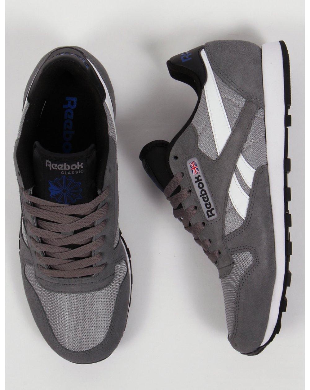 reebok classic trainers grey