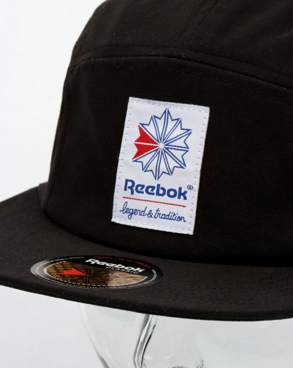Reebok Classics 5 Panel Cap Black d651bb11d6e