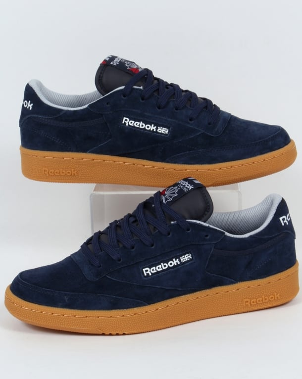 Reebok Club C 85 Indoor Trainers Navy/gum