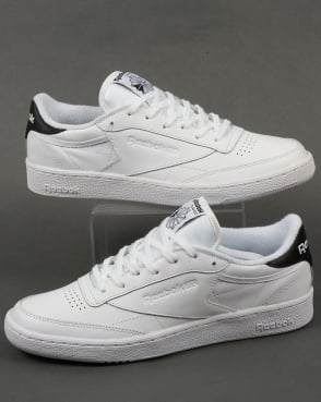Reebok Club C 85 Retro Trainers White/Black