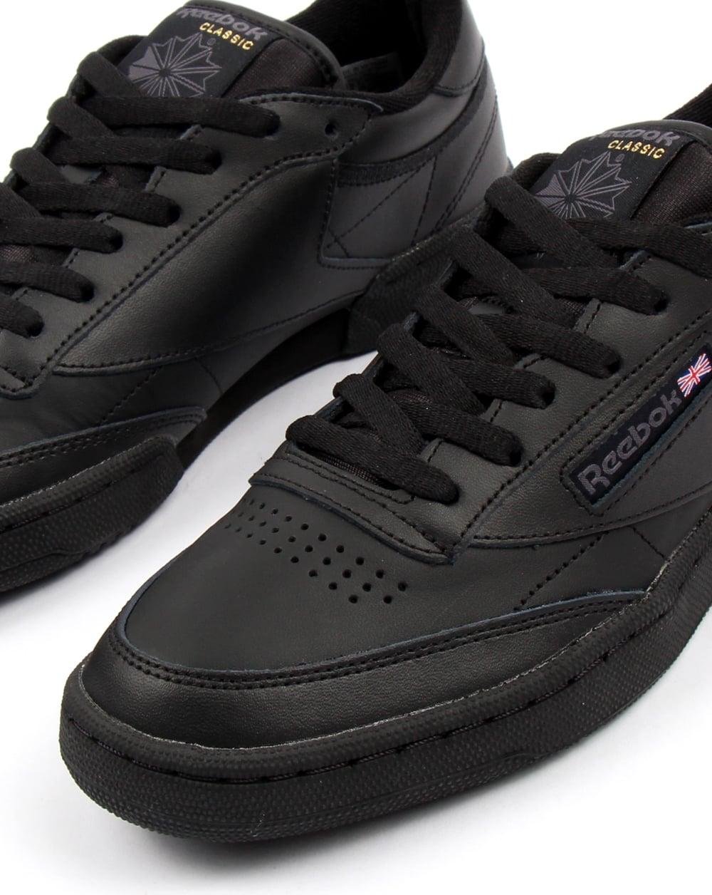 f9d947c8343fb Reebok Club C 85 Trainers Black