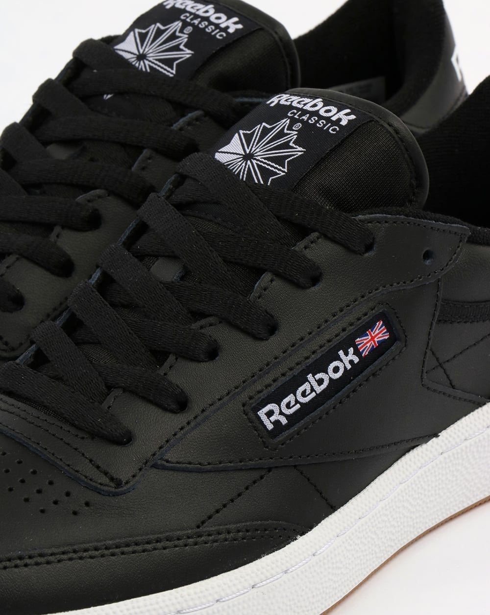 110616a0a1f Reebok Club C 85 Trainers Black White