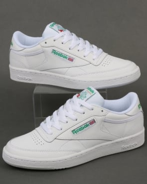 Reebok Club C 85 Trainers White/Green