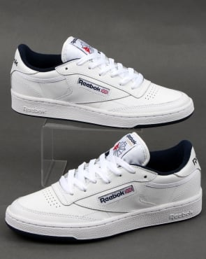 Reebok Club C 85 Trainers White/navy