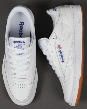 Reebok Club C 85 Trainers White/Royal/Gum