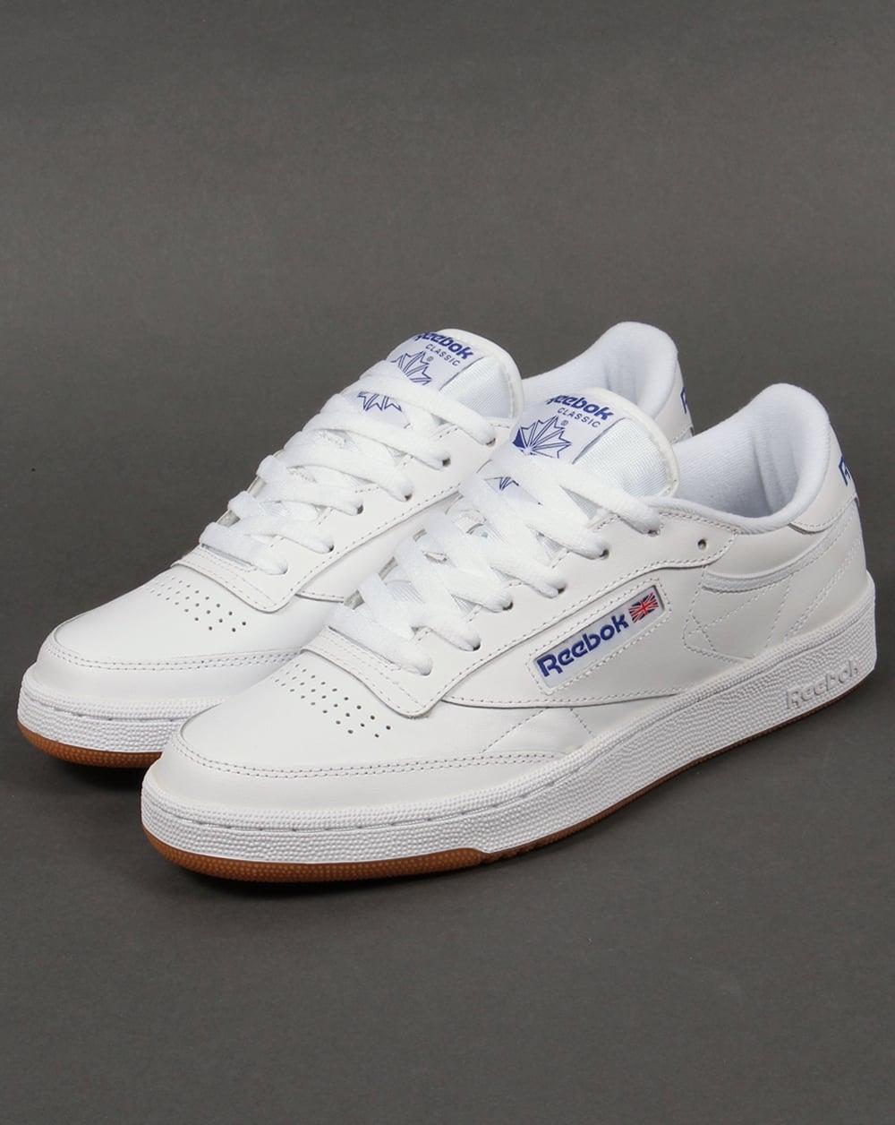 reebok club c classic tennis shoe