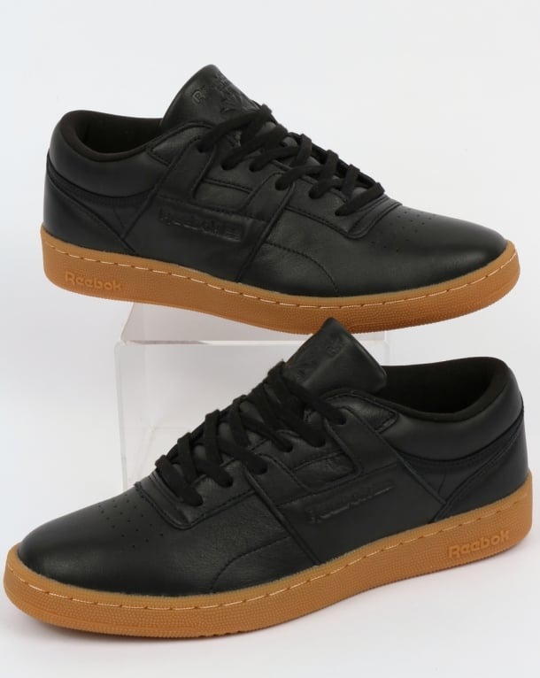 15fdd1789910 ... detailed images bfc07 24db3 Reebok Club Workout Trainers BlackGum ...