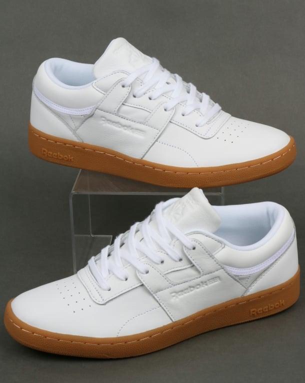 buy popular 231c4 f0c31 Reebok Reebok Club Workout Trainers White Gum