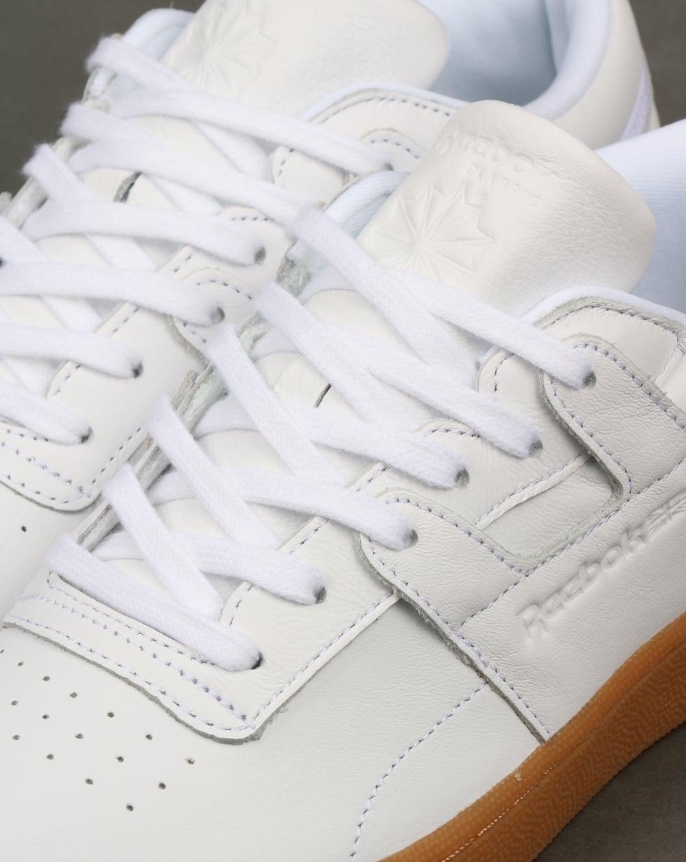 5946f64616a Reebok Club Workout Trainers White Gum