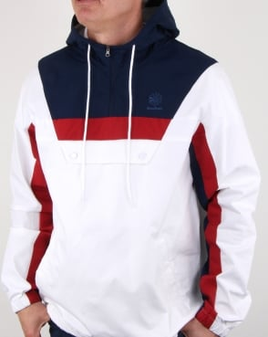 Reebok Ef Half Zip Anorak White/navy/red