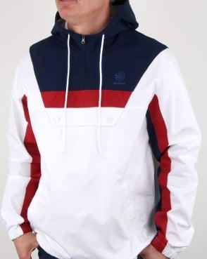 Reebok Ef Half Zip Anorak White/navy/red