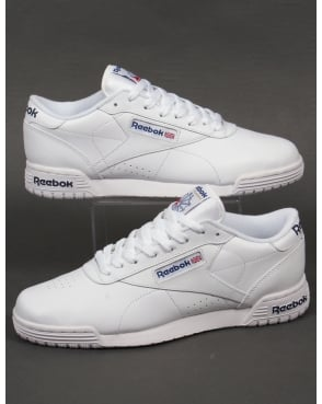 Reebok Exofit Lo Clean Logo Trainers White