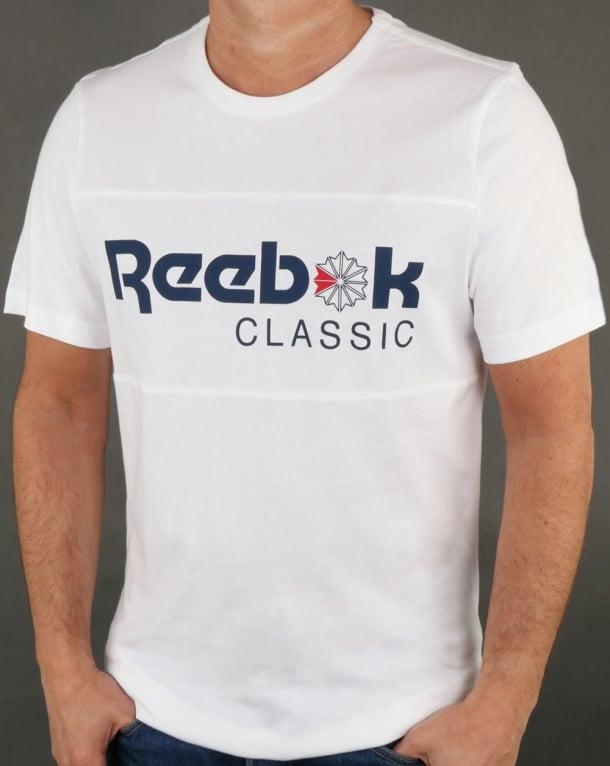 Reebok Franchise Iconic T Shirt White