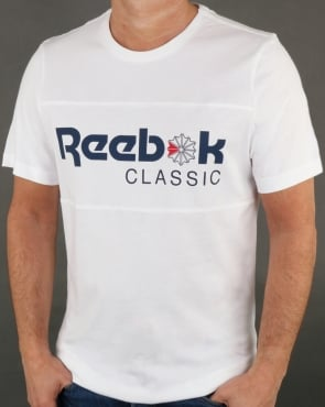 Reebok Franchise Iconic T Shirt White