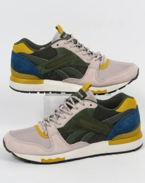Reebok Gl 6000 BP Trainers Green/Sandstone