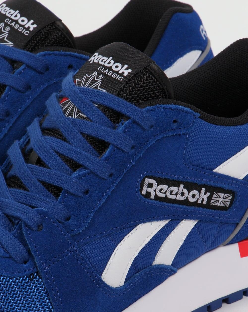 288ed5c1ee2 Reebok GL 6000 PP Trainers Dark Royal Red
