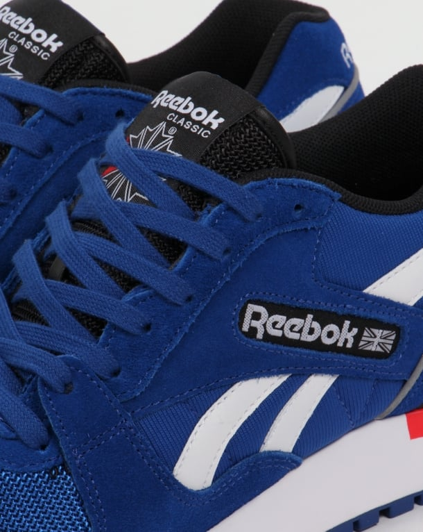 9f9de9dbe69 Reebok GL 6000 PP Trainers Dark Royal Red