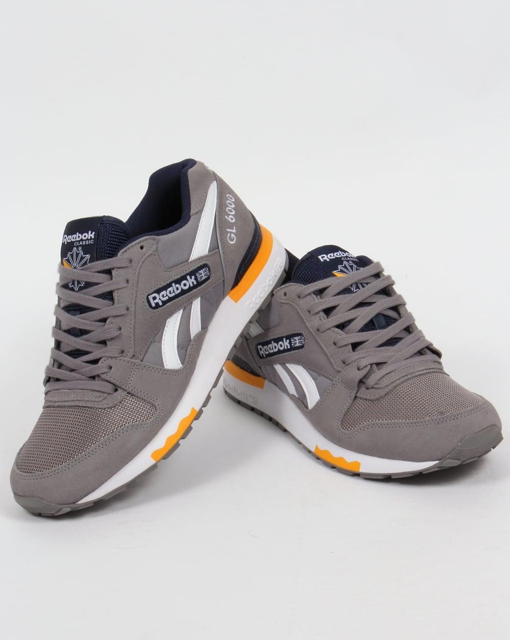 f4d1f0e5dd5ed Reebok GL 6000 Athletic Trainers Mens Trainers Shop Mens Trainers  COLOUR-grey blue