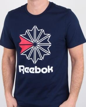 Reebok Gr T Shirt Navy