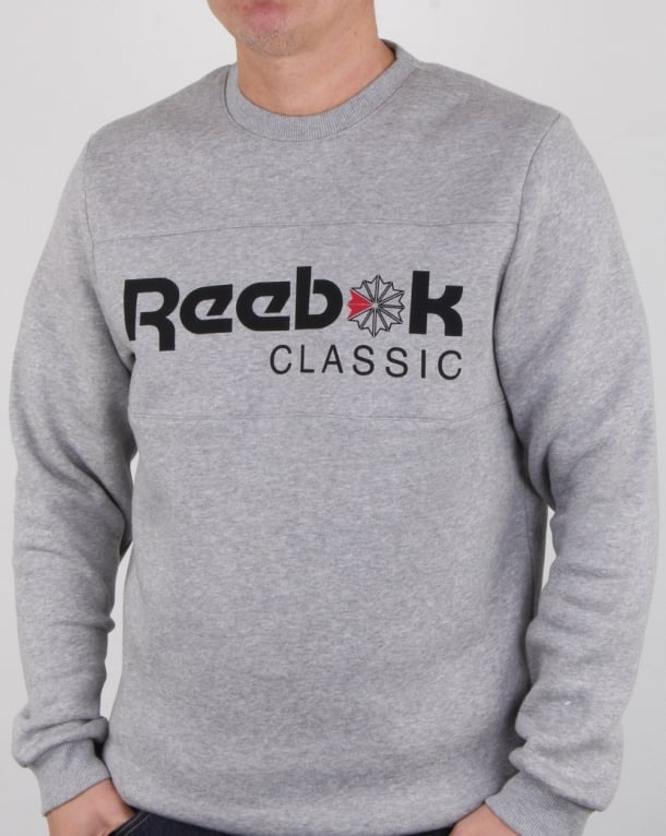 Reebok Iconic Crew Sweat Grey Heather
