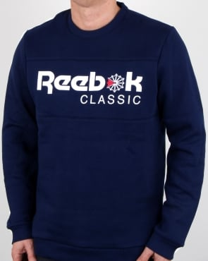 Reebok Iconic Crew Sweat Navy