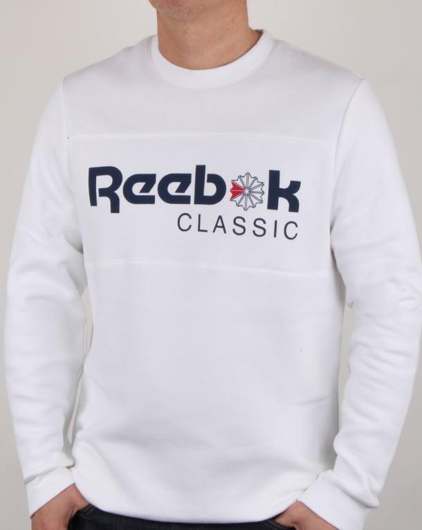 Reebok Iconic Crew Sweat White