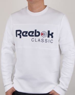 Reebok Iconic Crew Sweat White