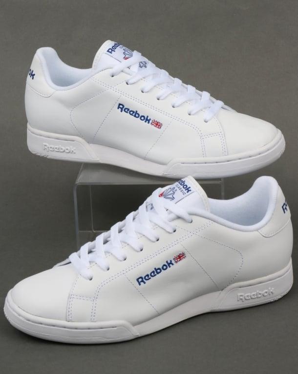 Reebok NPC II Trainers White/White