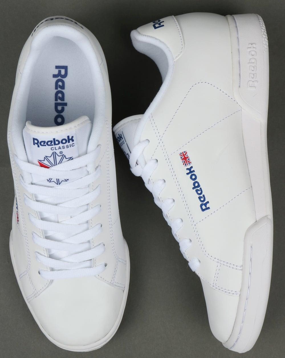 ce7939ed33f7a Reebok NPC II Trainers White White