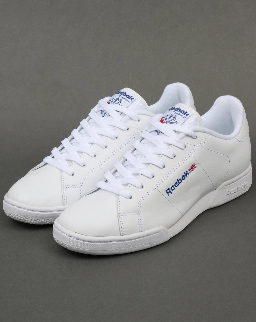 e596358b818 Reebok NPC II Trainers White White