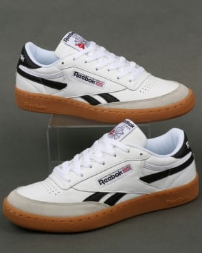 Reebok Revenge Plus Gum Trainers White/Snowy Grey/Black
