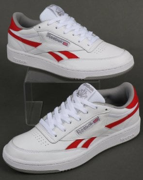 Reebok Revenge Plus Trainers White/Red