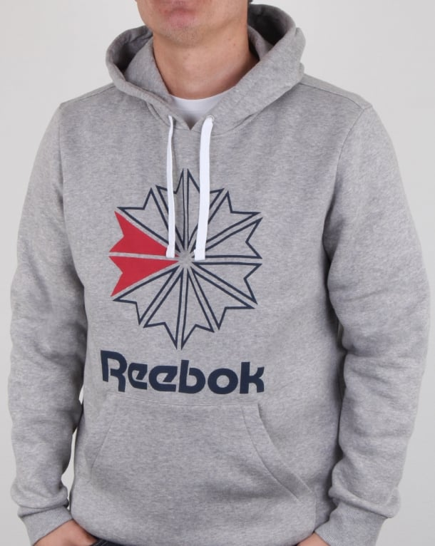 Reebok Starcrest Hoody Grey Heather