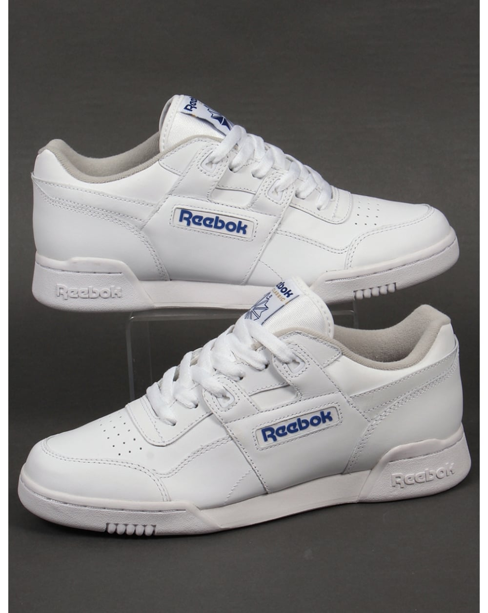 859f5a840ba Reebok Reebok Workout Plus Trainers White