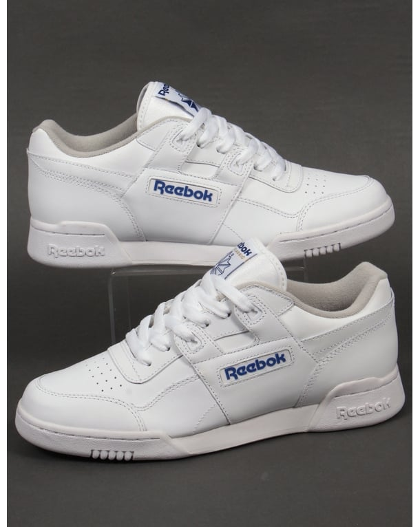 White Workout Plus Sneakers Reebok Best Seller zwINz4mWH