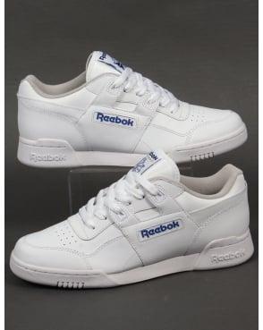 Sale - Plus Workout Leather Velcro Trainers - Reebok Reebok EO2q0CD