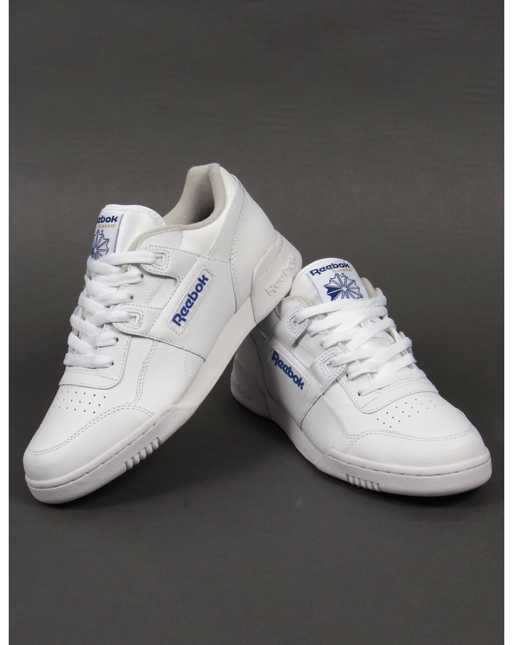 Reebok Workout Plus Trainers White 10b1b1273