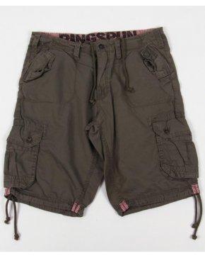 Ringspun Combat Shorts Olive Green