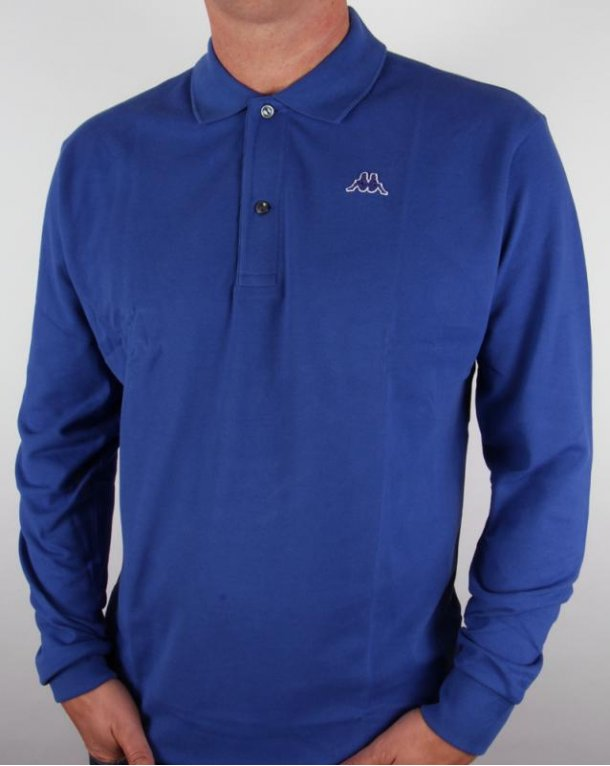 Robe Di Kappa Aarberg L/s Polo Shirt Royal Blue