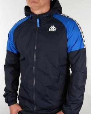 Robe Di Kappa Anfield Hooded Jacket Navy/Royal Blue