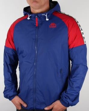 Robe Di Kappa Anfield Hooded Jacket Royal Blue/Red