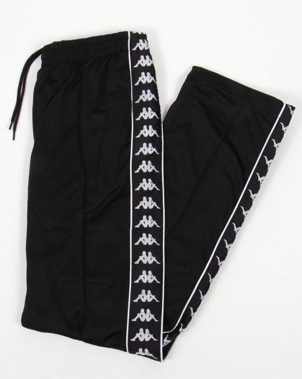 Robe Di Kappa Banda Track Bottoms Black