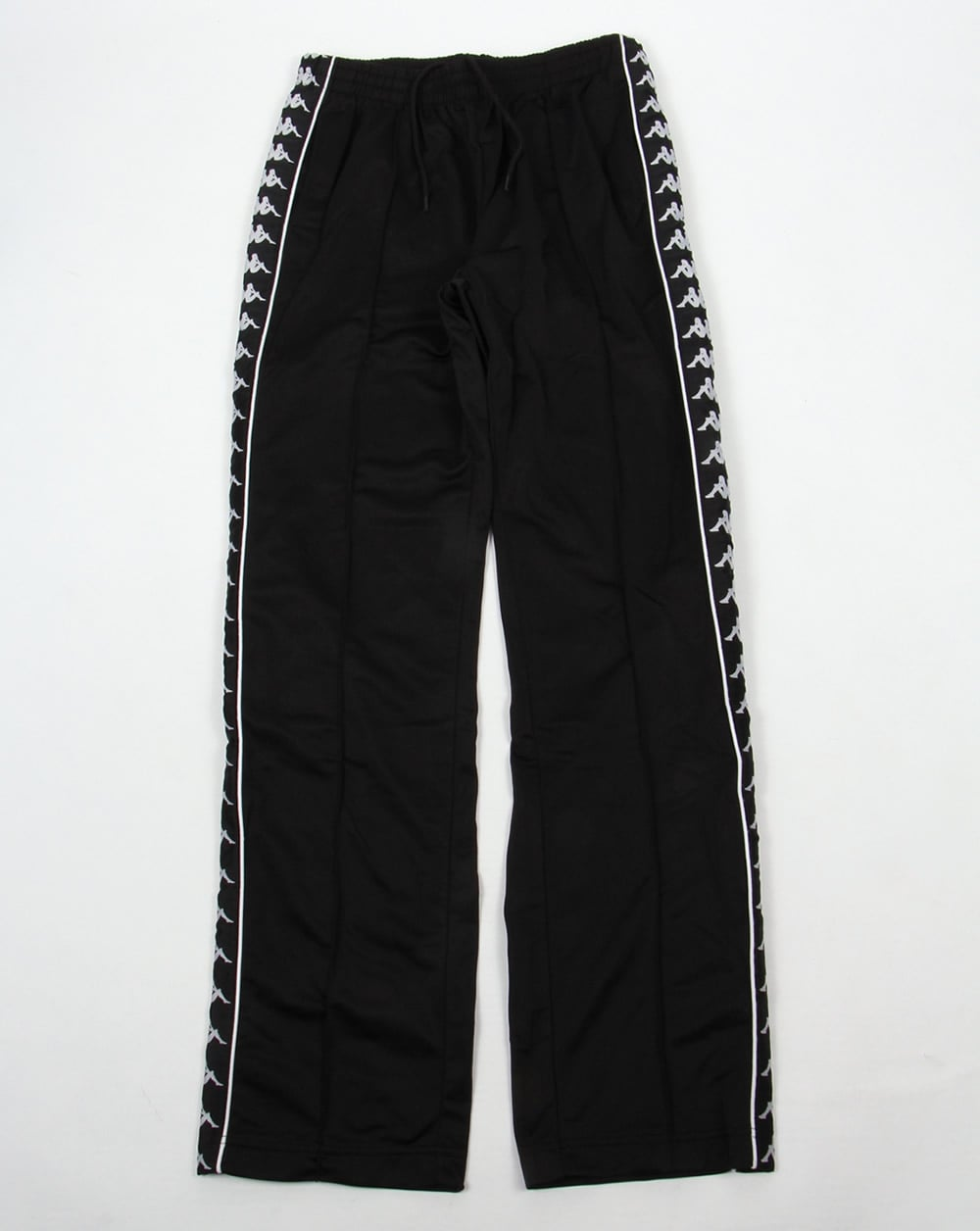 robe di kappa banda track bottoms black kappa from 80s casual classics uk. Black Bedroom Furniture Sets. Home Design Ideas