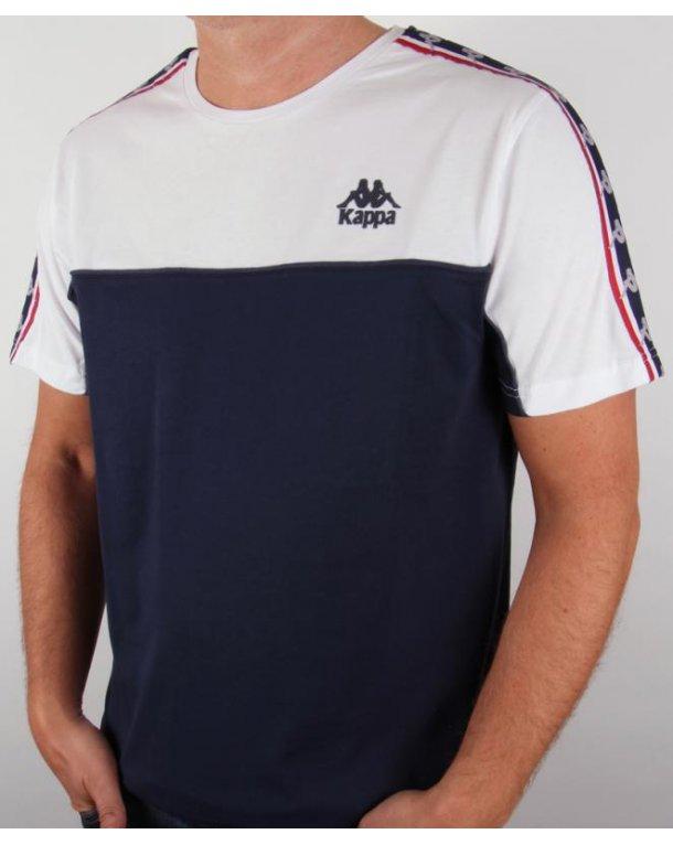Robe Di Kappa Dunlin T-shirt Navy/white
