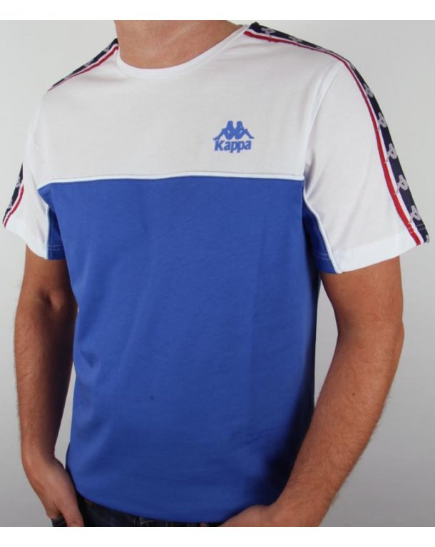 Robe Di Kappa Dunlin T-shirt Royal Blue/white