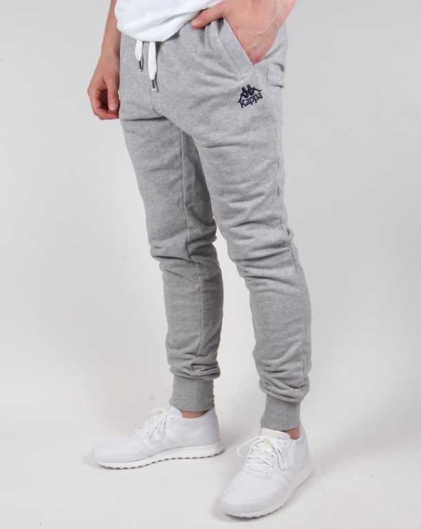 Robe Di Kappa Fratton Track Bottoms Grey Marl