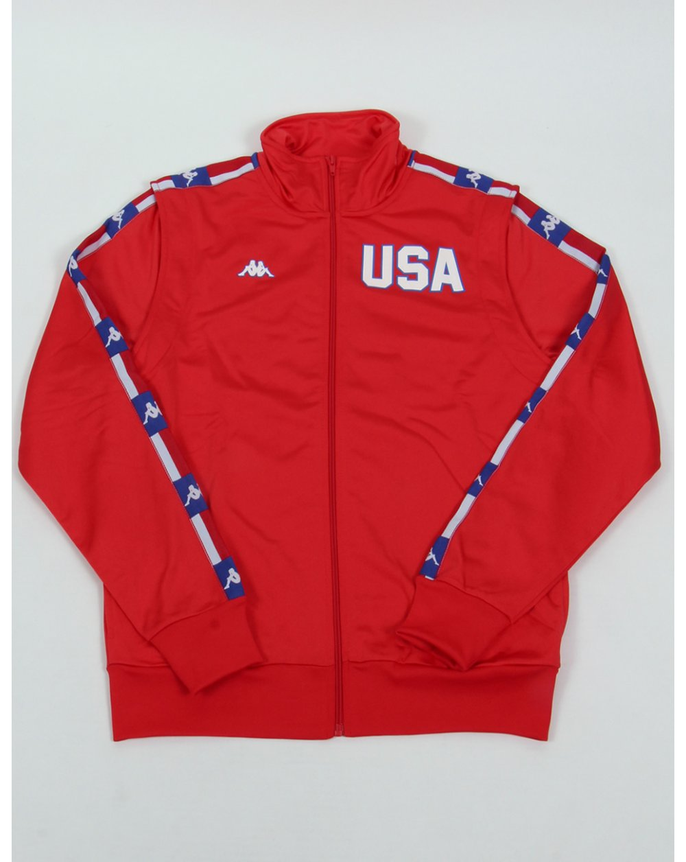 ba0075f186 Robe Di Kappa La84 Usa Olympic Full Tracksuit Red