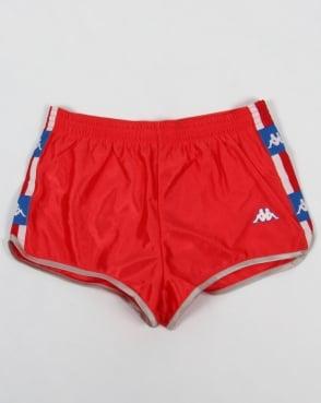 Robe Di Kappa LA84 USA Olympic Shorts Red